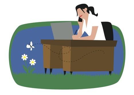 Doe eens gek, ontdek een andere werkplek! 5 voordelen van 'spelen met plaats' - Mindshake | 21stcenturyskills en het nieuwe opleiden | Scoop.it