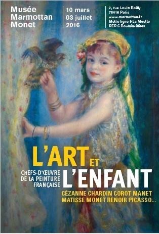 Jusqu'au 3 juillet 2016 :: Exposition L'Art et l'enfant, Musée Marmottan-Monet (Paris) | ALMAGESTE | Scoop.it