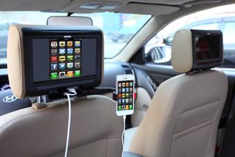 Un appui-tête vidéo avec connectique Smartphone chez Exonic Mobile - autoradio, navigation gps, multimédia - caraudiovideo   La suite...   Scoop.it