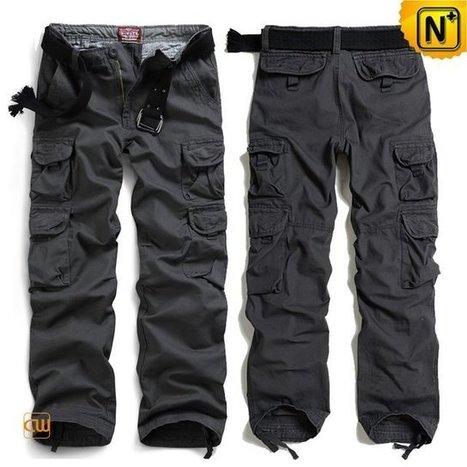 Dallas Mens Loose Fit Cargo Work Pants CW100010 | Leather Blazer Jacket | Scoop.it