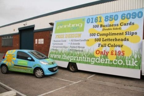Business Card Manchester | Theprinting Den | Scoop.it