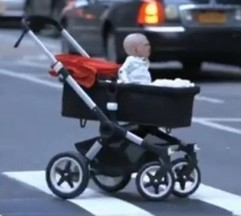 Video de terror: el bebé que atemoriza a Nueva York | Curiosidades | Scoop.it