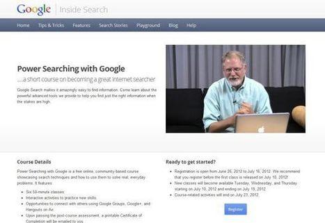 Curso online y gratuito para mejorar nuestras habilidades de búsquedas en Google | Educación a Distancia y TIC | Scoop.it