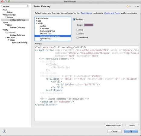 Flash Builder Dark Background - Passionate Development | Flash Developer Diary | Scoop.it