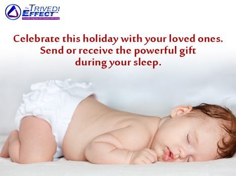 Celebrate this holiday with your loved ones.  Send or receive the powerful gift during your sleep. | Human Wellness | Scoop.it