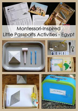 Montessori-Inspired Little Passports Activities – Egypt | Montessori Inspired | Scoop.it
