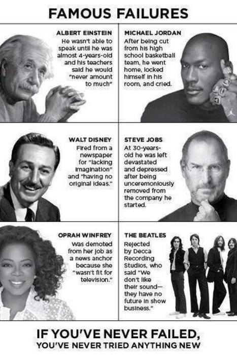 Famous Failures | Into the Driver's Seat | Scoop.it