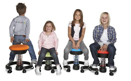 Rester en mouvement, même assis : un besoin vital pour nos enfants   Swopper, pour s'asseoir autrement   Scoop.it