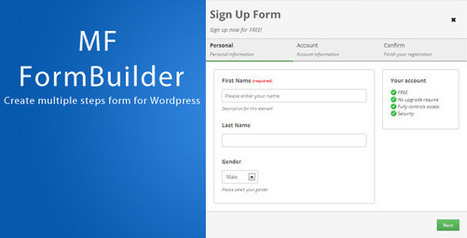 MF FormBuilder for WordPress Download   Best Wordpress Plugins   Scoop.it