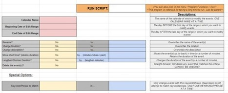 Edit All Your Calendar Events at Once with This Google Script | Google Apps Script | Scoop.it
