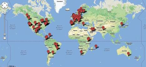 Map of OER Repositories | derrubar barreiras na educação | Scoop.it