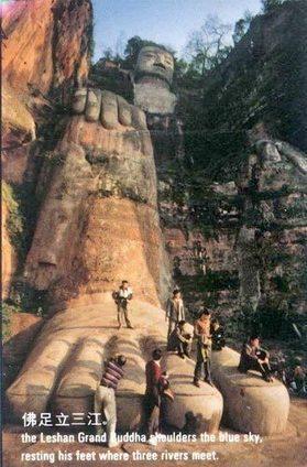 El Gran Buda de Leshan, en China | Antigua China | Scoop.it