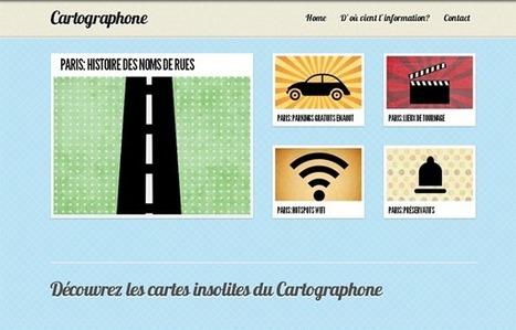 Cartographone : les cartes insolites de Paris | Social Network for Logistics & Transport | Scoop.it
