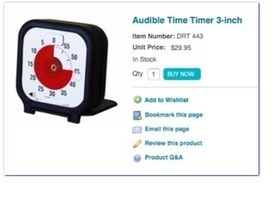 Shinobijimbo: TechNinja: Visual Timer | Communication and Autism | Scoop.it