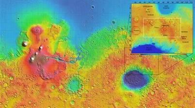 Mars' Tyrrhena Terra --Proof of Ancient Water | Science is Cool! | Scoop.it