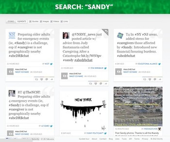 New Storify website is all about relevancy | Business in a Social Media World | Scoop.it