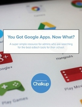 Free eBook -  Google Apps for Education Book for School Administrators from Chalkup | ICT Nieuws | Scoop.it
