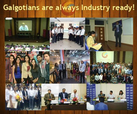 Importance of Industry Interface for your college | Galgotias University | Scoop.it