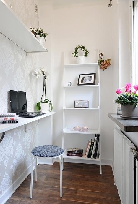 Mini bureau, maxi confort | La minute déco | la minute deco | Scoop.it