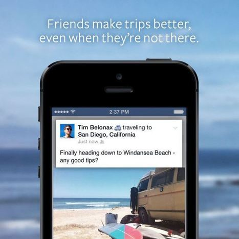 "Now Facebook Wants You To Share Where You're ""Traveling To"" 