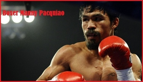 Boxer Manny Pacquiao Boxing Record, Wiki, Photo And Biography | Mayweather vs Pacquiao Live Stream TV | Live Stream | Scoop.it
