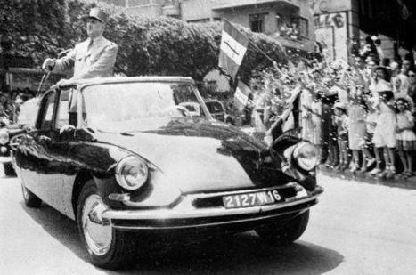 François Kessler : la DS du général de Gaulle bientôt exposée en Chine   50e anniversaire de l'établissement des relations diplomatiques entre la France et la République populaire de Chine   Scoop.it