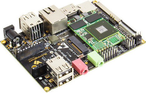 HummingBoard Edge SBC Gets an mSATA/M.2 Connector, an eMMC Flash, and More I/Os | Embedded Systems News | Scoop.it