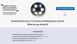 Social Roulette : le site qui flingue les comptes Facebook | advertising | Scoop.it