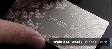 Metal Business Cards are Available In Different Forms   Metal Business Card   Scoop.it
