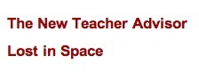 Education World: Lost in Space? Get Organized Quickly | Education | Scoop.it