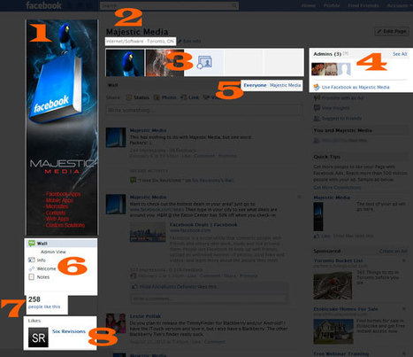 Guide to the New Facebook Page Design   zizozizo   Scoop.it
