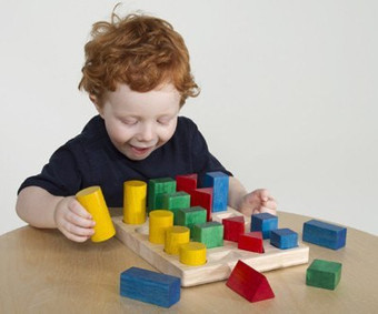 Colored GEO Forms Eco-Friendly toy | homeschooling | Scoop.it