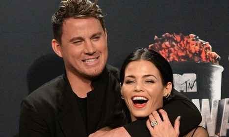 Channing Tatum puts wife Jenna in a headlock | Channing Tatum | Scoop.it