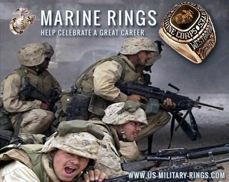 "USMC Rings for ""the few and the proud"" 