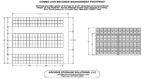 RECORDS MANAGEMENT - COMBO FOOTPRINT | Storage Solutions | Scoop.it