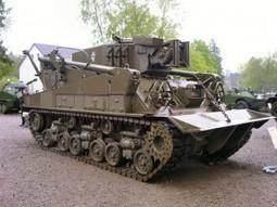 M74 Tank Recovery Vehicle – Walk Around | History Around the Net | Scoop.it