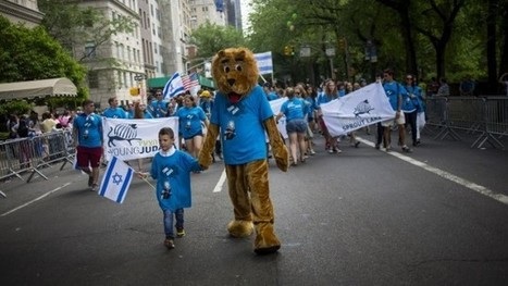 Tens of thousands attend NYC Israel solidarity parade | Jewish Education Around the World | Scoop.it