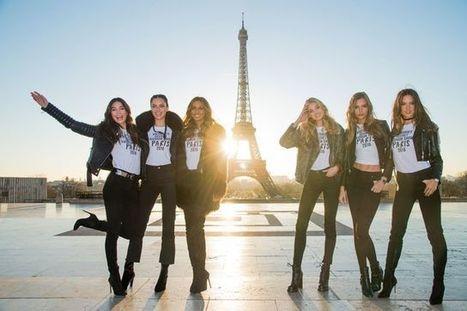 Défilé Victoria's Secret à Paris: mannequins, musique, fantasy bra | De Mode en Art | Scoop.it
