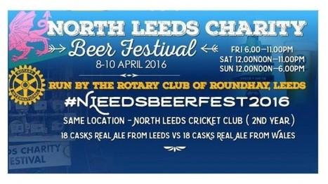 LEEDS CHARITY BEER FESTIVAL 2016 » Leeds Guide | North Leeds Charity Beer Festival | Scoop.it