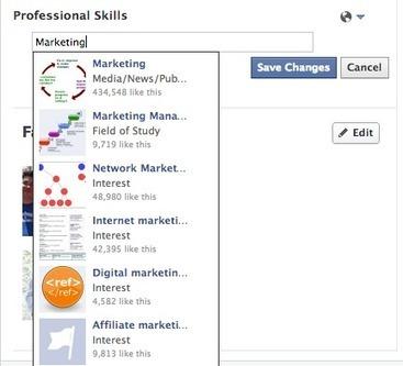 Facebook prepara nova opção: Competências Profissionais | Curador de Conteúdos - Community Manager - Web 2.0 | Scoop.it