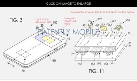Samsung innove encore et toujours plus avec son brevet pour un écran holographique :   Tuitec   Scoop.it