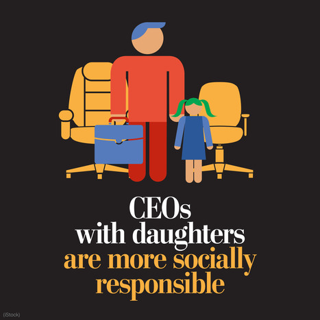 CEOs with daughters run more socially responsible companies, research finds - The Washington Post | Nonprofit marketing communications | Scoop.it