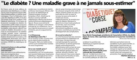 ARTICLE DU CORSE MATIN | ADC | Scoop.it