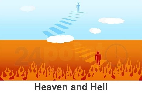 Heaven and Hell - Editable PPT | Slide Ideas | Scoop.it