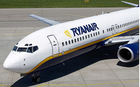 Ryanair targets 50pc increase in passengers over next decade - Telegraph | Buss3 | Scoop.it