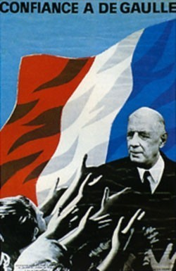 Affiches électorales: la bataille de l'image (1965-2012) - Rue89 | GenealoNet | Scoop.it