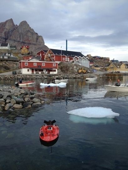 Oregon State University's RV Rob Q-Boat 1800 in Greenland | Ocean Science | Scoop.it