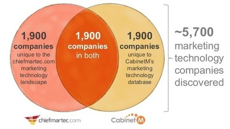 Think my marketing tech landscape is too big? It's missing 1,900 firms - Chief Marketing Technologist   Designing  service   Scoop.it
