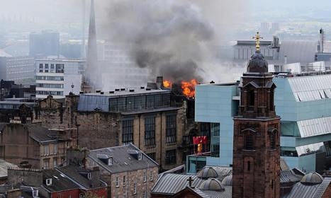 Glasgow School of Art's famed library feared lost in blaze | The Blog's Revue by OlivierSC | Scoop.it