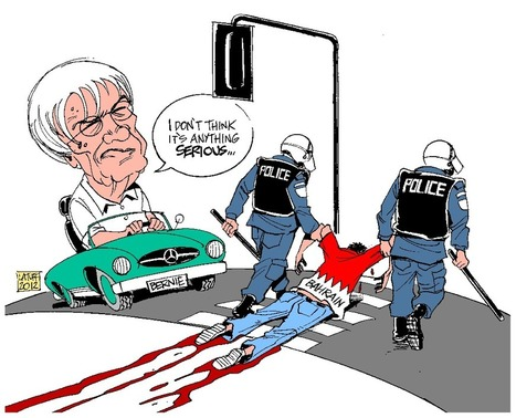 Bernie Ecclestone's blindness:  No Bahrain F1 ! | Human Rights and the Will to be free | Scoop.it